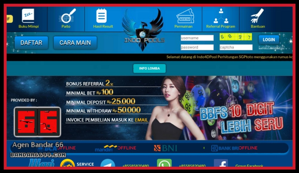 INDO4DPOOLS Ticket To Your Dream