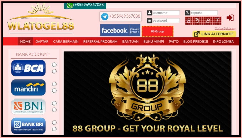 Wlatogel88 Wap | Wla Togel 88 Web | WlaTogel 88 Link Alternatif Daftar dan Login Togel88